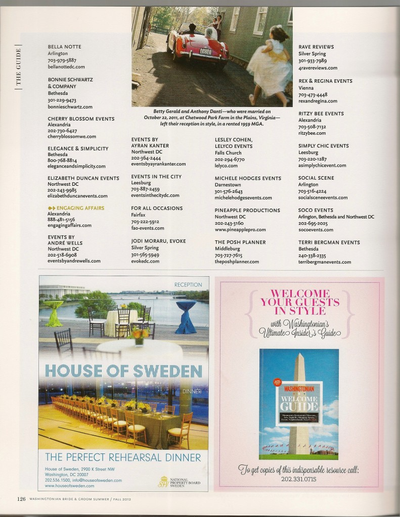 WASHINGTONIAN BG FALL 2012-BEST OF LIST