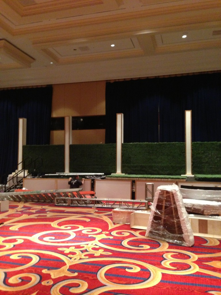stage buildout